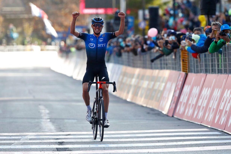 Den 24-årige Ben O'Connor vandt karrierens største sejr onsdag.