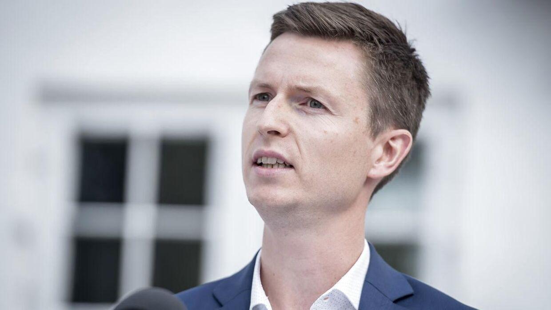 Politisk ordfører Jesper Petersen.