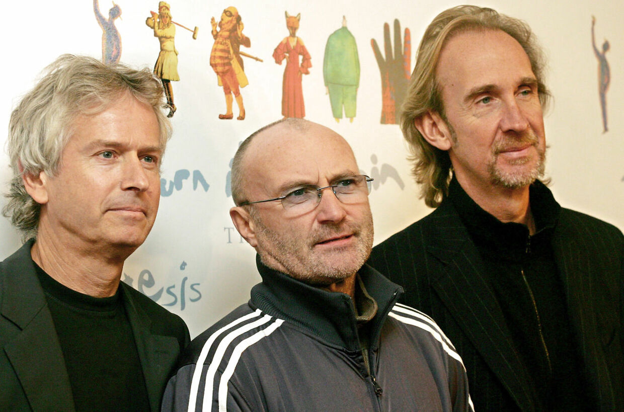 Genesis anno 2006: Tony Banks, Phil Collins og Mike Rutherford.