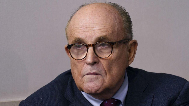 Rudy Giuliani har fået en uheldig rolle i den nye Borat-film.