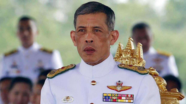 Den thailandske konge Maha Vajiralongkorn.