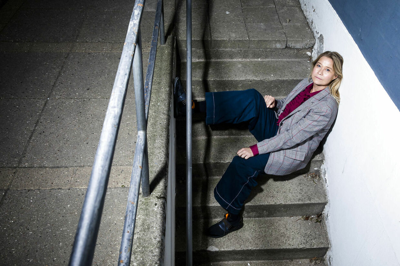 Trine Dyrholm spiller hovedrollen i den nye film »Erna i Krig«.