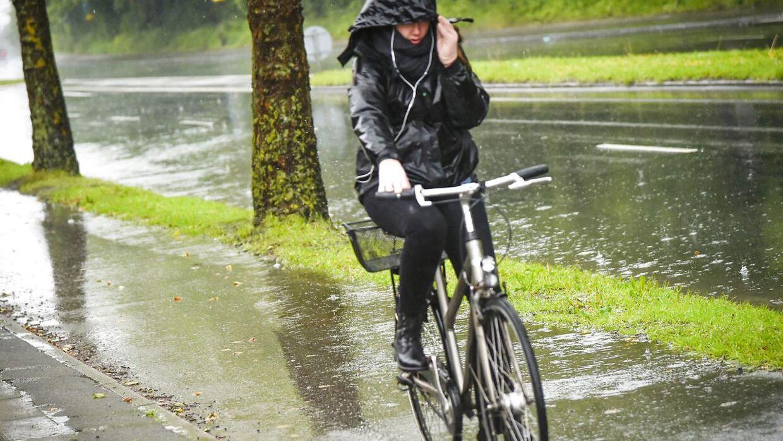 Det bliver vådt i de kommende dage.