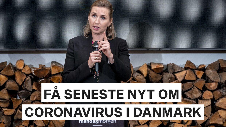 Få seneste nyt om coronavirus i Danmark. Video: Ritzau Scanpix / Byrd / B.T. Arkiv.