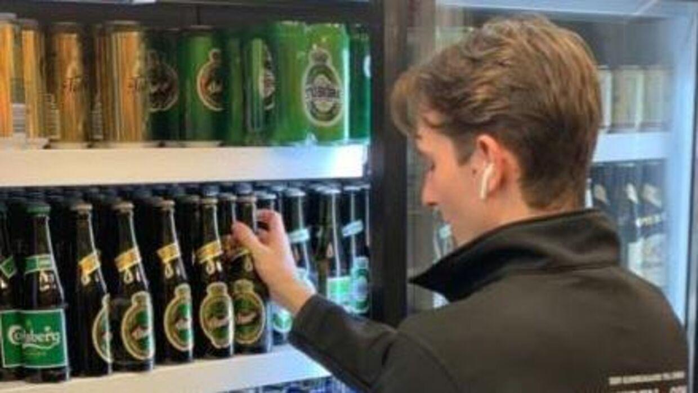 Muhammed Hussain ejer kiosken Døgneren i København.