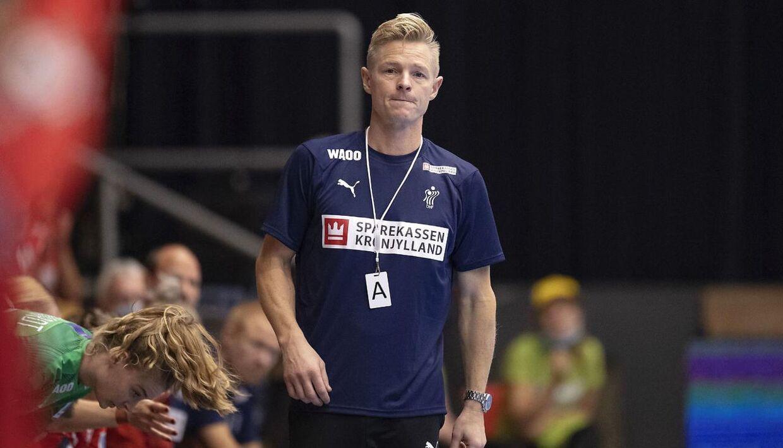Danmarks landstræner Jesper Jensen.