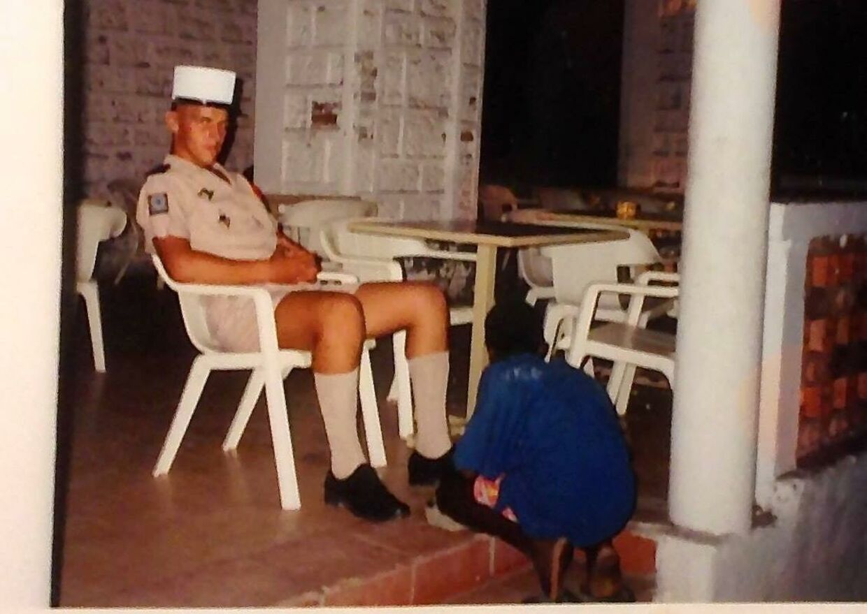 Jim i Fremmedlegionen.