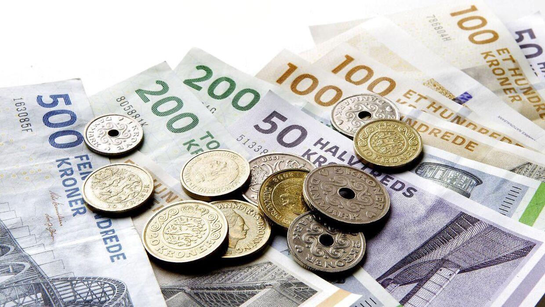 Der er falske sedler i omløb i København. (Foto: Bax Lindhardt/Ritzau Scanpix)