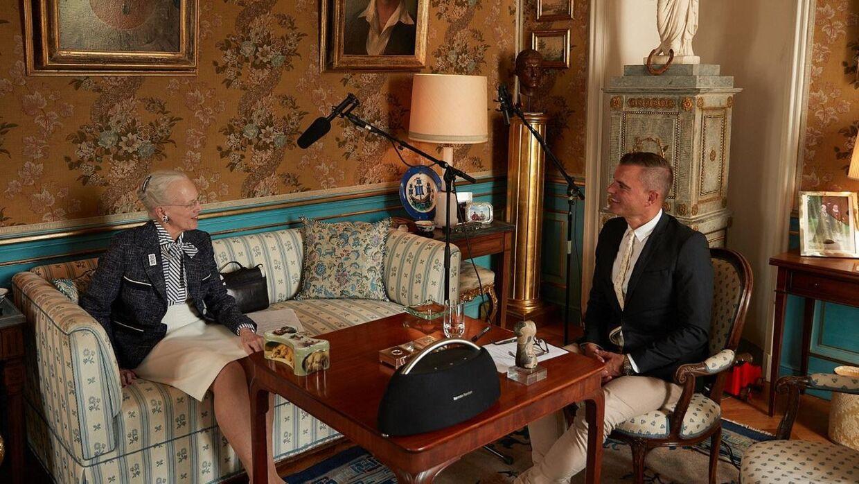 Dronning Margrethe har forskellige samtalepartnere i podcasten. Petra Kleis/Free