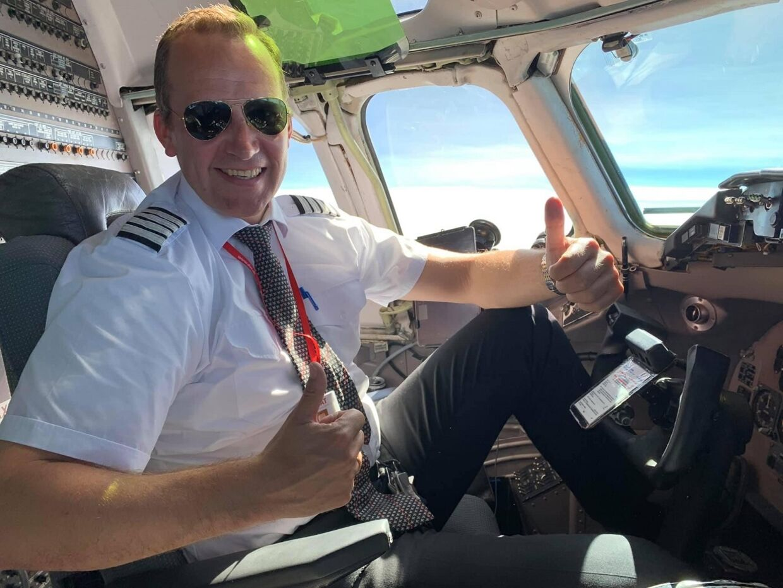 Daniel Vagner Ankerso har sparet op til at kunne opfylde sin drengedrøm om at blive pilot, siden han var 13 år.
