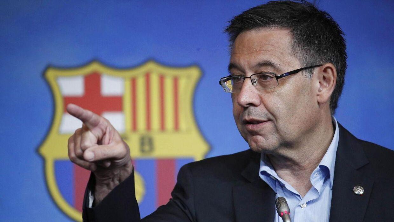 Josep Bartomeu meddelte tirsdag, at han trækker sig.