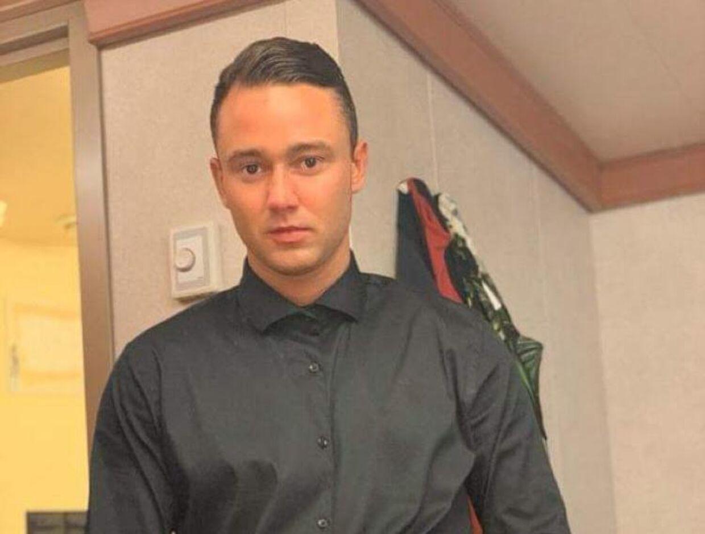 Oliver Dalgaard blev i en alder af 25 år skudt af politiet i Hornslet. B.T. har fået tilladelse fra hans far og mor til at bringe billedet.