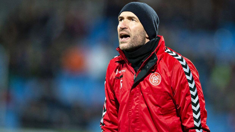 Jacob Friis har været cheftræner for AaB siden 2018.