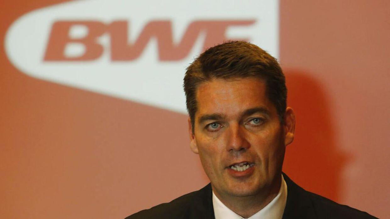 55-årige Poul-Erik Høyer er præsident for Badminton World Federation (BWF).