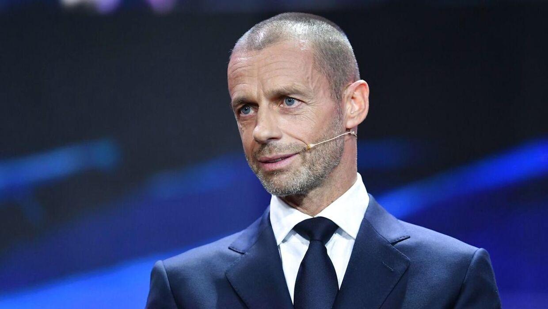 Uefas præsident, Aleksander Ceferin, lægger ikke skjul på, at han er imod en ny europæisk superliga.