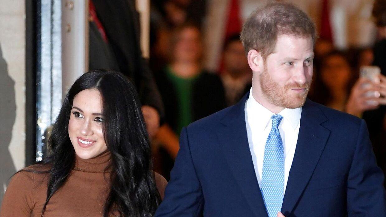 Meghan Markle og prins Harry forlod tidligere på året det engelske kongehus.
