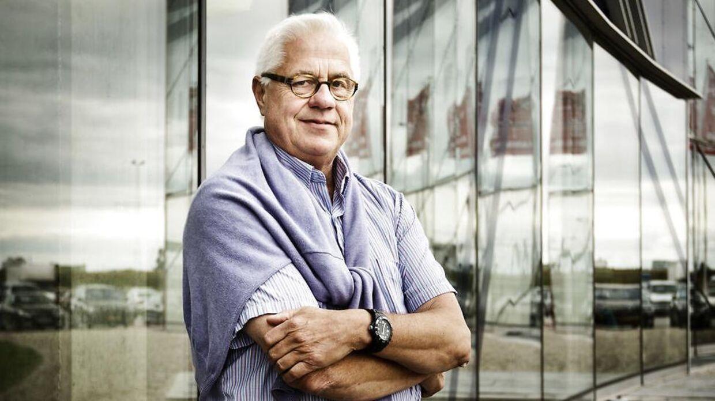 Niels Fennet,der har skabt hotelkæden Cabinn, er røget helt ud af årets liste.