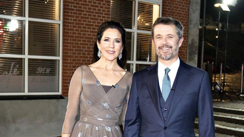 Kronprinsesse Mary og kronprins Frederik ved 'Kronprinsparrets priser'.