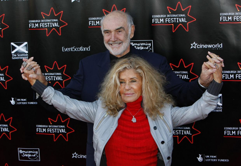 Sean Connery og Micheline Roquebrune.