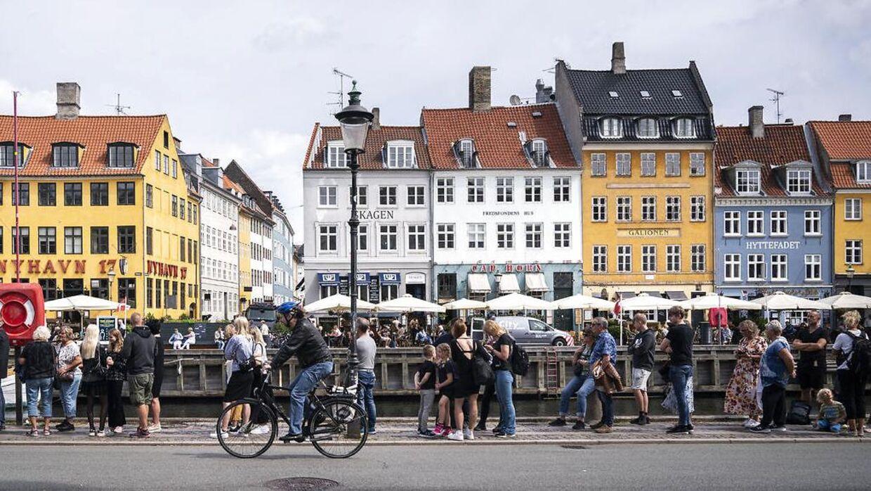 Turister i København.