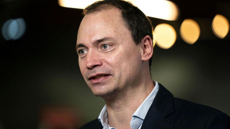 Arkivfoto af Tommy Ahlers, der er tidligere uddannelses- og forskningsminister for Venstre.
