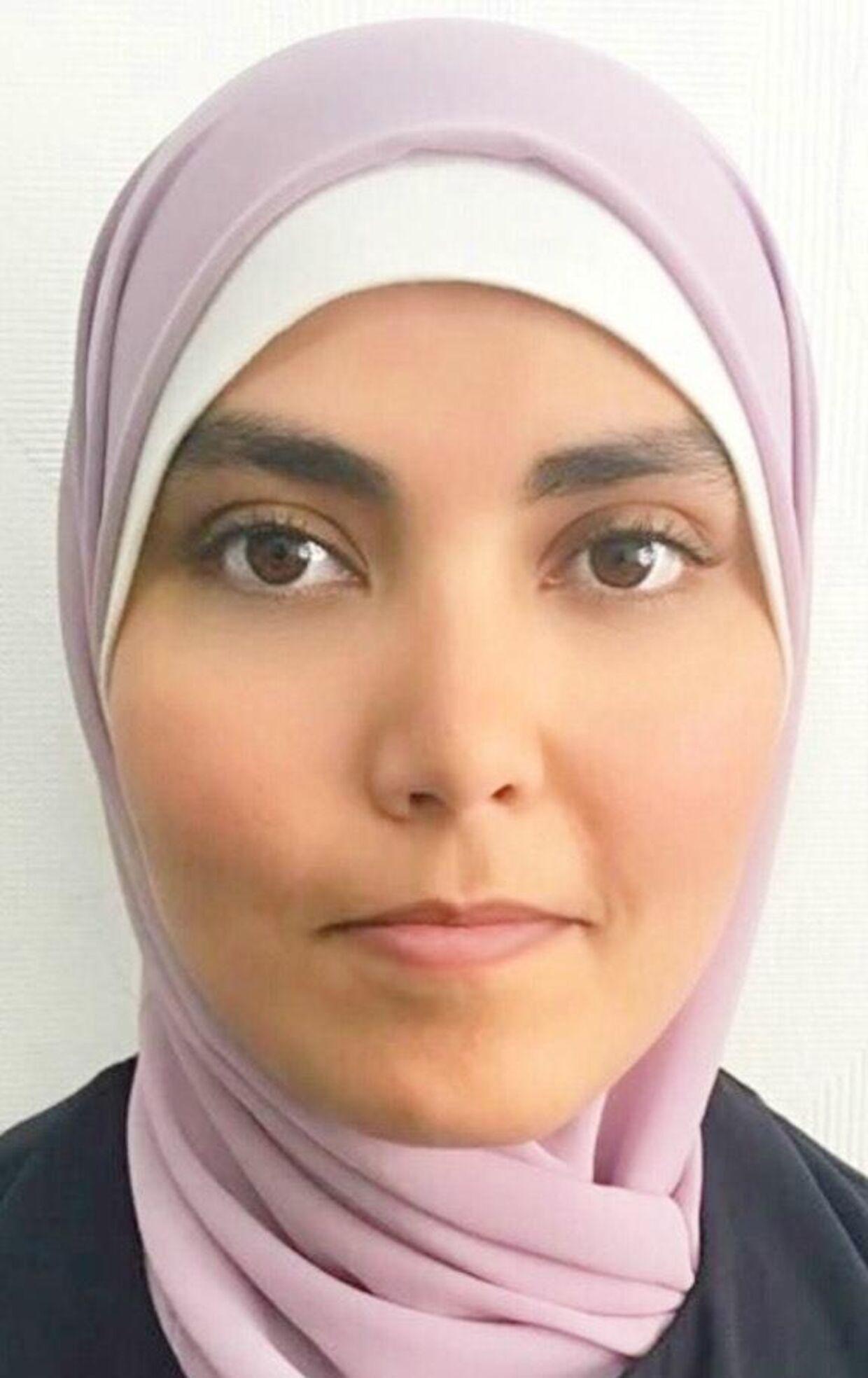 Samah Hammoude er enlig mor til to børn, en pige på syv og en dreng på seks.