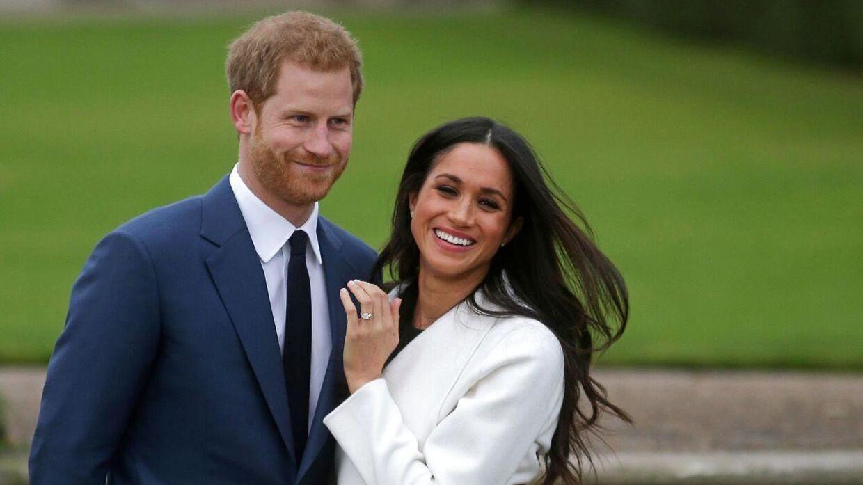 Hertugindeparret blev gift i 2018 – men Meghan beholdt sit amerikanske statsborgerskab.