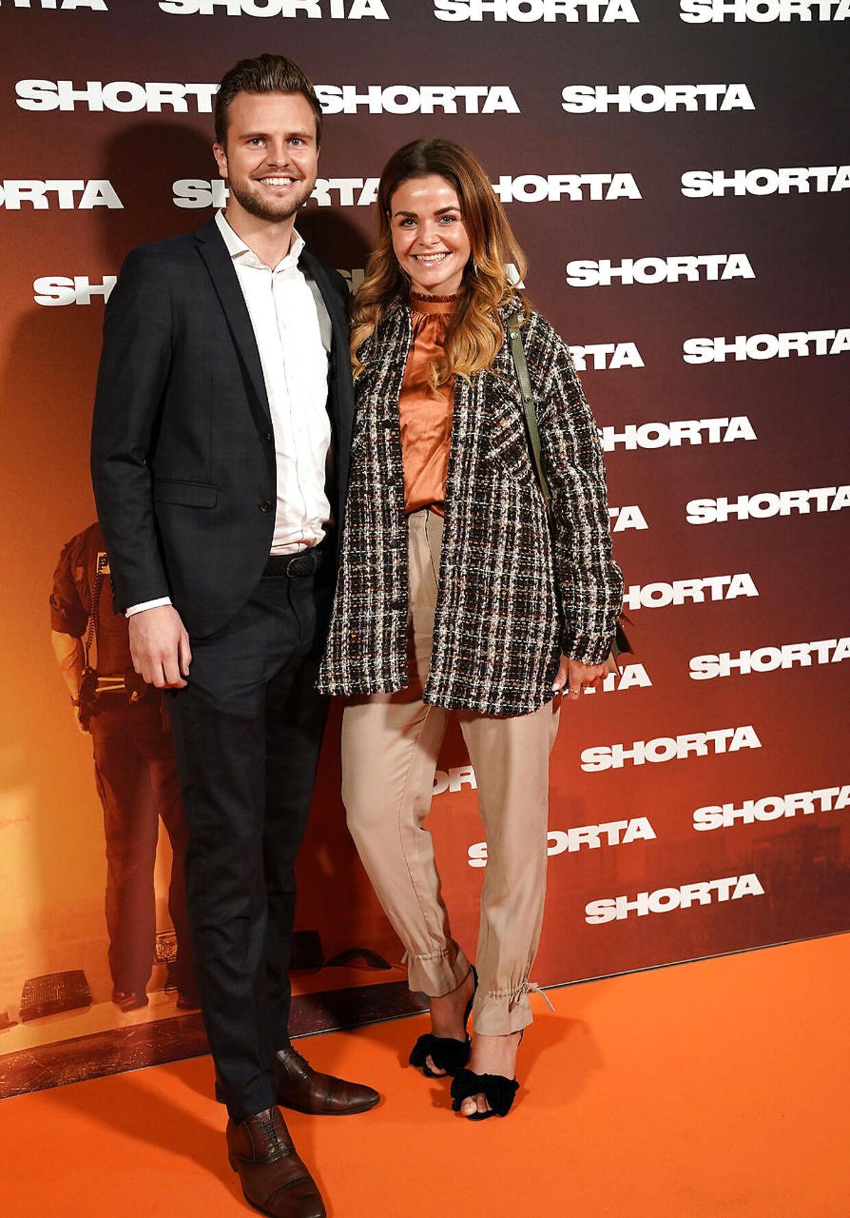 Ditte Julie Jensen med kæresten, Joakim Skak.