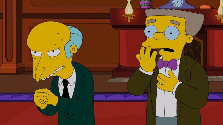 Mister Burns og hans højre hånd, Smithers får begge stemmer af Harry Shearer. Shearer lægger i alt stemme til ti af de tegnede Simposons-figurer.