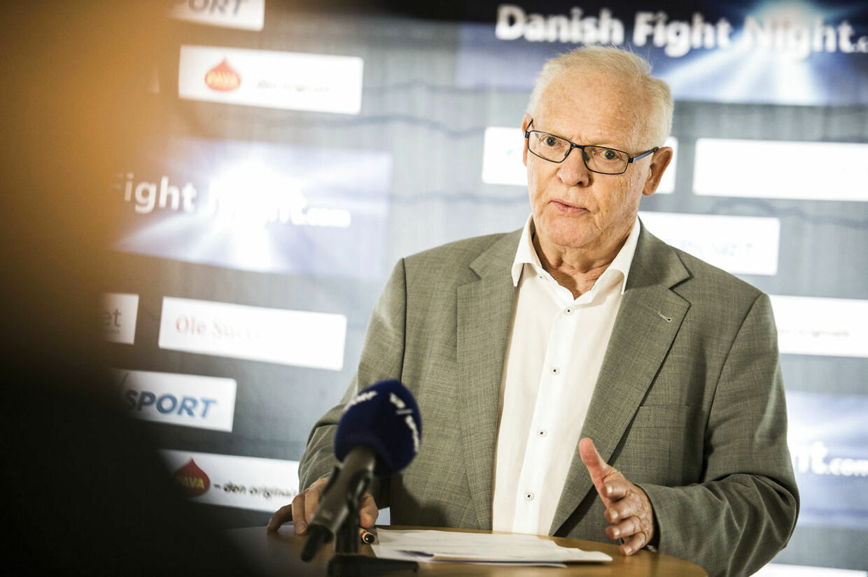 Mogens Palle er klar til at give Patrick Nielsen comeback i 'Danish Fight Night'. (Foto: Ólafur Steinar Gestsson/Scanpix 2016)