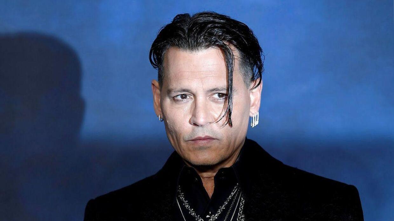 Johnny Depp skal ikke være med i film nummer tre af Fantastic Beasts. REUTERS/Toby Melville/File Photo