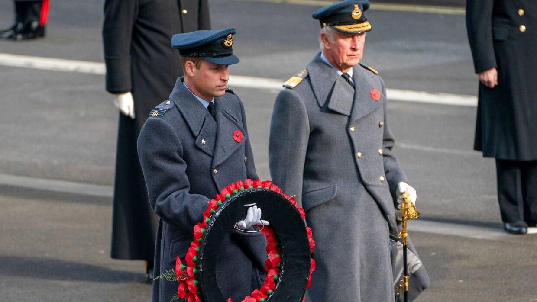 Prins William og prins Charles.