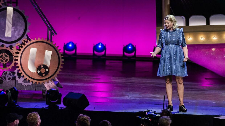 Sofie Linde afslørede også ved 'Zulu Awards', at hun er gravid.