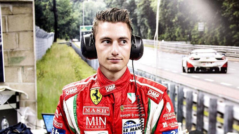 Mikkel Mac skal køre for Lamborghini i den kommende weekend.