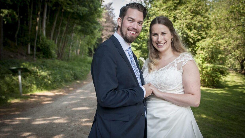 Kathrine og Michael blev 'Gift ved første blik', som danskerne kunne se på DR1 i 2018.