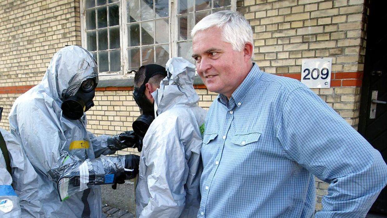 Nils Strandberg Pedersen er læge og har været direktør for Statens Serums Institut i 18 år indtil 2016. (Foto: JENS NØRGAARD LARSEN/SCANPIX NORDFOTO 2002)
