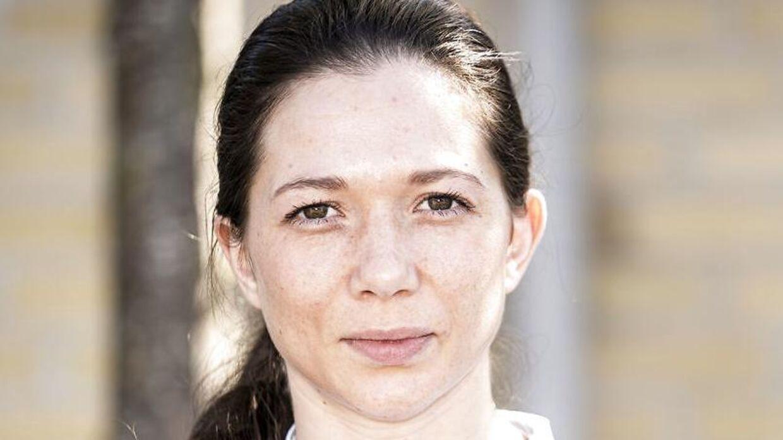 Professionel bokser Sarah Mahfoud er knust over, at hendes VM-kamp er aflyst. (Foto: Niels Christian Vilmann/Ritzau Scanpix)