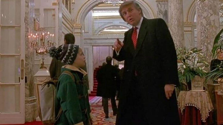 Donald Trump i 'Alene Hjemme 2'.