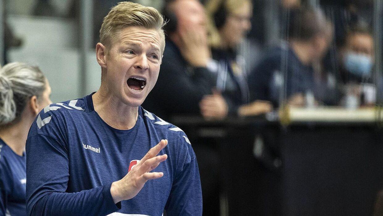 Jesper Jensen, landstræner for kvindelandsholdet i håndbold.