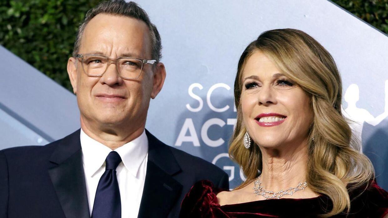 Tom Hanks og hans hustru, Rita Wilson, som er mor til Chet.