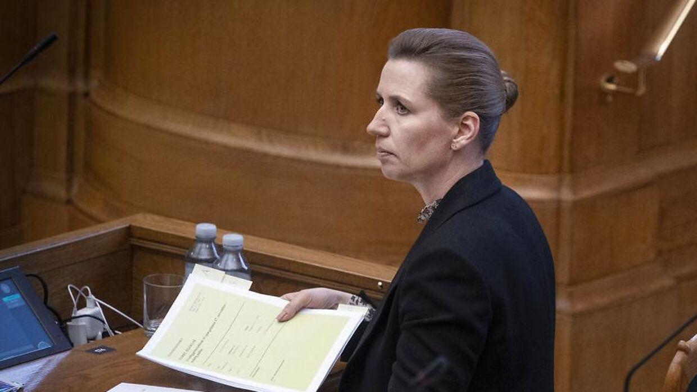 Spørgetime i salen med statsministeren Mette Frederiksen, tirsdag den 17. november 2020.