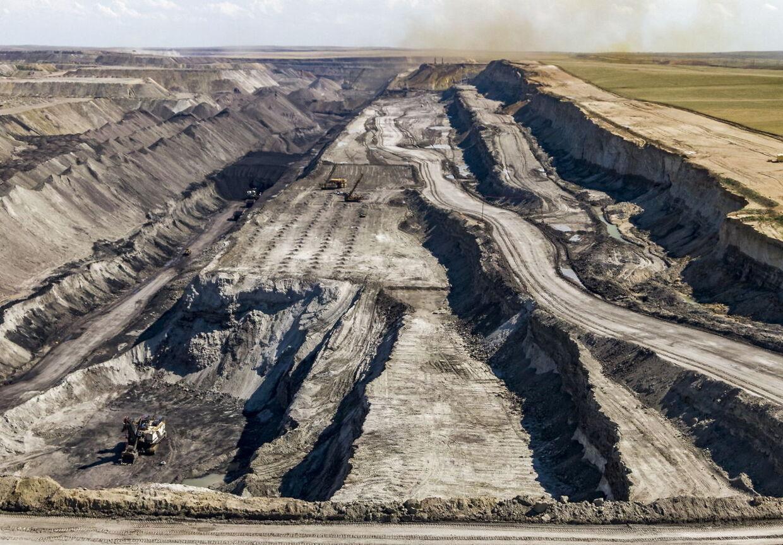 Black Thunder-kulminen i Wyoming. Staten er den største kulproducent i USA – her findes seks af de 10 største kulminer i landet.