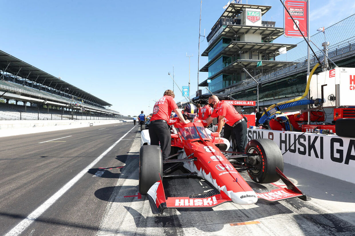 Ericsson nyder livet i IndyCar. (Brian Spurlock-USA TODAY Sports)