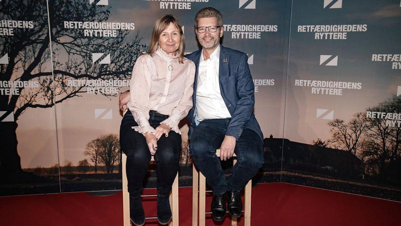"""Frank Jensen til gallapremieren på komedien """"Retfærdighedens ryttere"""" i Imperial i København onsdag den 18. november 2020"""