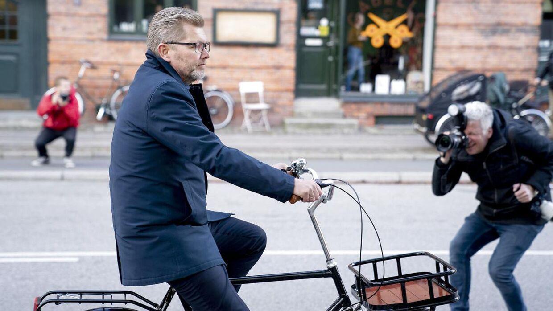 Frank Jensen kort efter, han trak sig fra dansk politik.