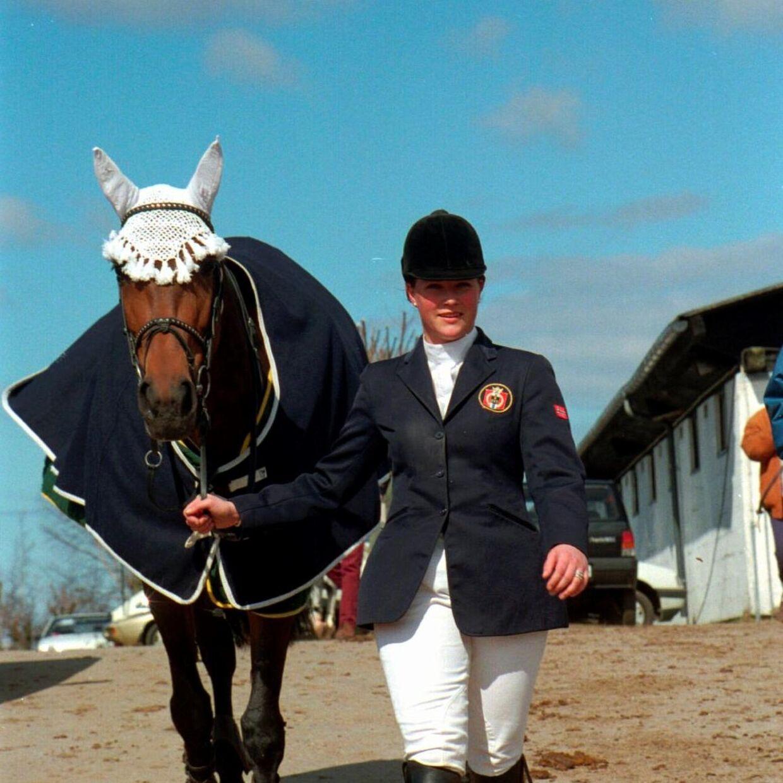 Prinsesse Märtha Louise er en dygtig rytter og var sågar på landsholdet i sin tid.