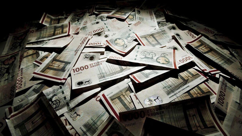 Flere millioner i kontanter er blevet fundet over to dage i Københavns Lufthavn. (Arkivfoto)
