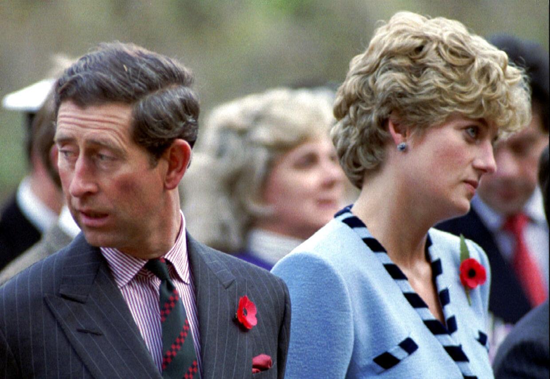 Et desværre ikke sjældent billede på ægteskabet mellem Diana og Charles.