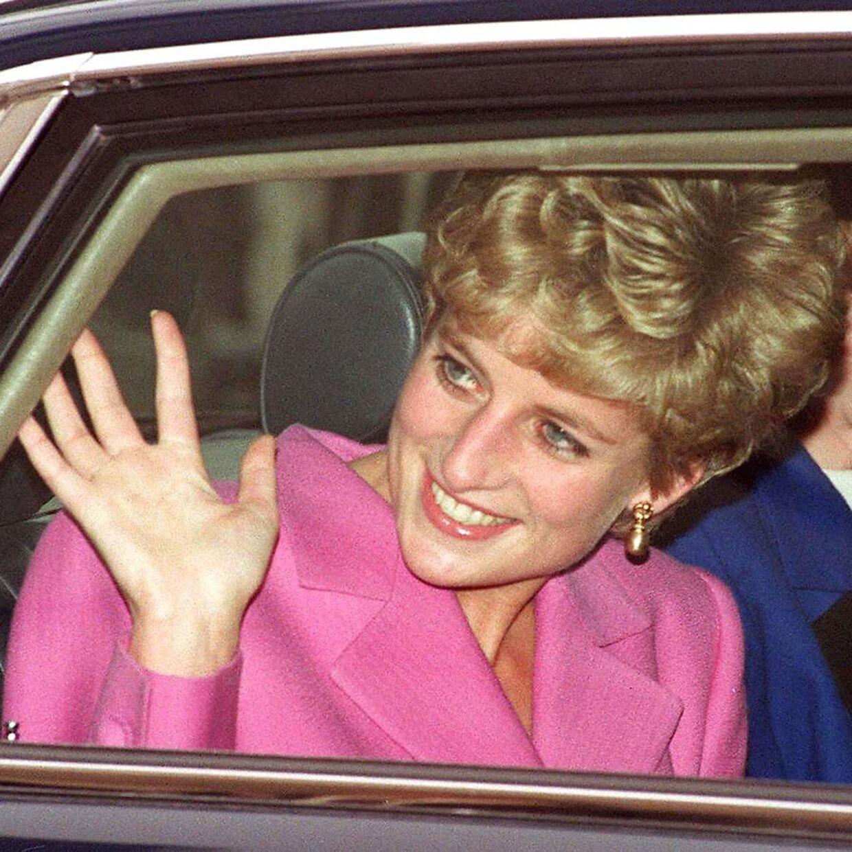 Prinsesse Diana fotograferet i 1992.