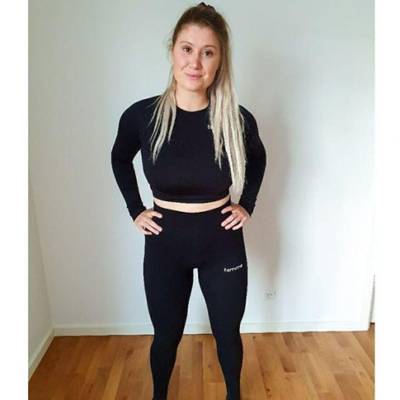 Sådan ser Nanna ud i dag efter at have tabt 12 kilo på fem måneder.